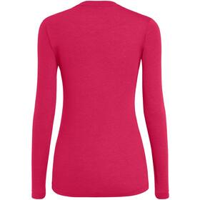 SALEWA Solidlogo Dry Longsleeve T-Shirt Dames, virtual pink melange